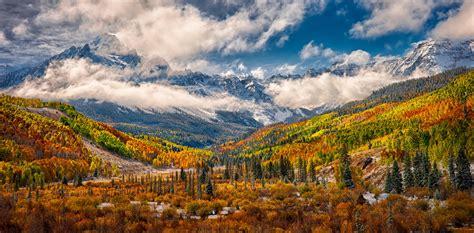 colorado color aspens and oak display blazing autumn colors in colorado