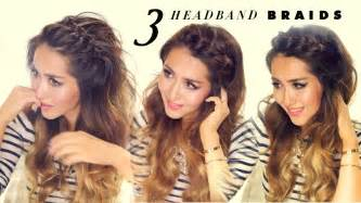easy ethinic braid styles on hair 3 easy peasy headband braids quick hack hairstyles for