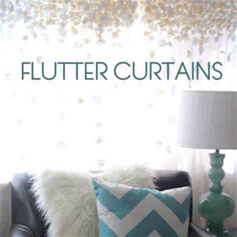 flutter curtains flutter drapes anthropologie hack tip junkie