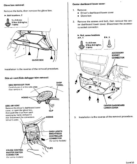 free download parts manuals 2011 honda civic electronic valve timing 97 civic hatch dash and heater core removal honda tech