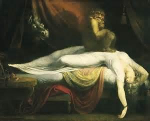 sleep paralysis demon sitting on chest add your