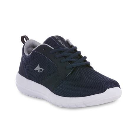 mens athletic shoes athletech mens athletic shoes kmart