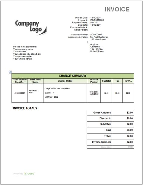 logo design invoice template how do i remove the zuora logo from my invoice template