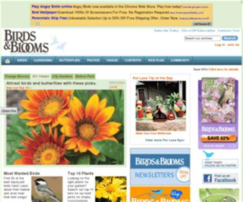 backyard living magazine website backyardlivingmagazine com birds blooms magazine