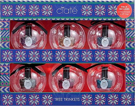 ciate tree trinkets for holiday 2013