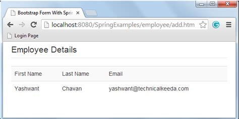 tutorial public bootstrap integration of twitter bootstrap form and spring mvc framewok