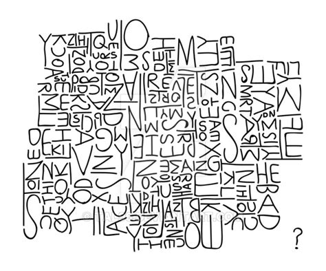 5 Letter Jumbled Words jumbled letters by tal96 on deviantart