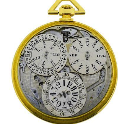 jules jurgensen pocket digital time calendar for