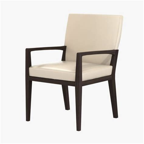 hunt dining arm chair 3d model cgtrader