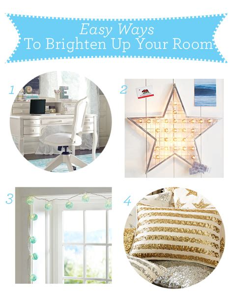 Lighten Up Your Place And Your Wallet With A Glo by Easy Ways To Brighten Up Your Room Pottery Barn