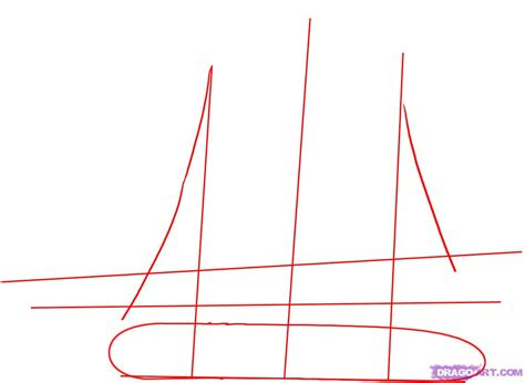 how to draw a pirate ship doodle how to draw a pirate ship step 1