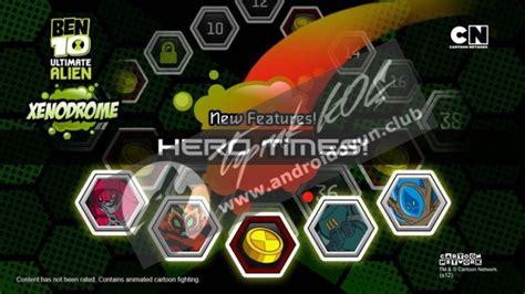 download game android ben 10 xenodrome mod apk ben 10 xenodrome v1 2 5 mod apk para hileli