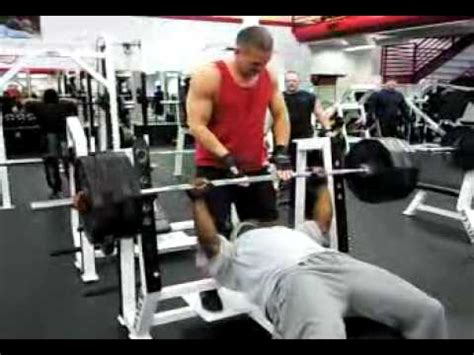 495 bench press john peterson raw 495 bench press youtube