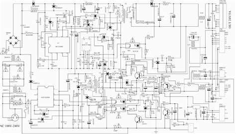 schematic diagram electro help akai lta 27a901 lcd tv power supply