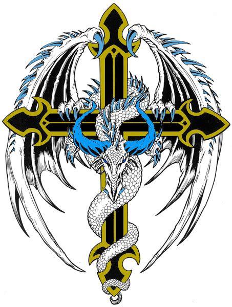 dragon cross clipart best