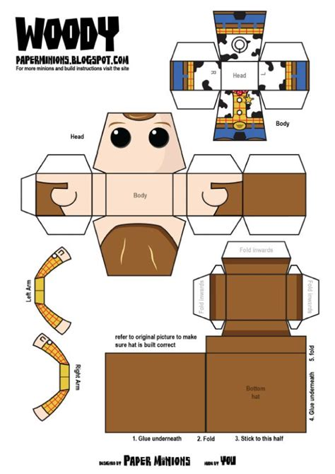 woody buzz de paper minions bois 233 jouets et jouets en