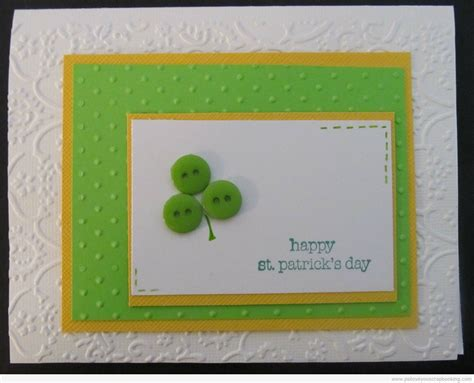 S Day Handmade Cards - st s day handmade card ps i you