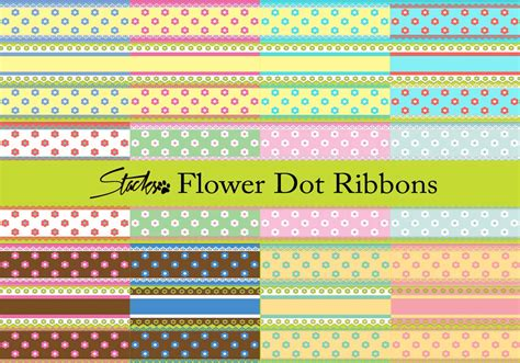 flower pattern ribbon flower dot ribbon patterns free photoshop patterns at