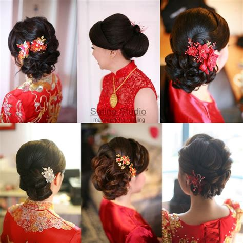 Asian Wedding Hairstyles Updos by Wedding Hairstyles Satinestudio Bridal Updo