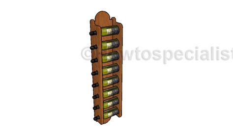 X Wine Rack Plans by Wall Wine Rack Plans Howtospecialist How To Build Step By Step Diy Plans