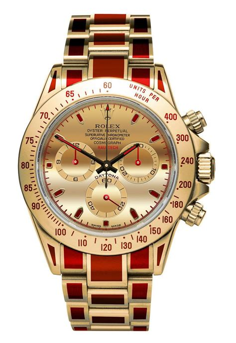 colorful watches rau tech custom rolex and other watches colorful coatings