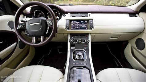 evoque land rover interior range rover evoque coupe review autoevolution