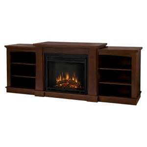 hawthorne tv stand with electric fireplace espresso target