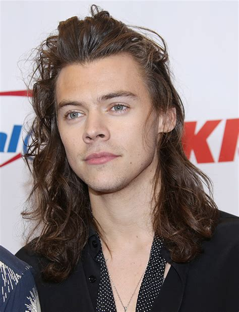 is long hair or short hair in style why harry styles cut his hair his reason for chopping his