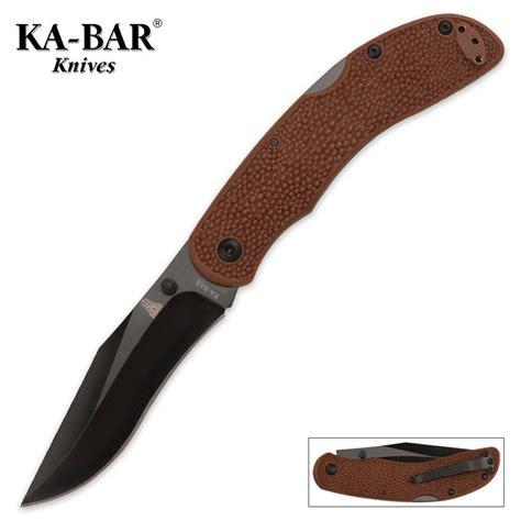 kabar folding knife kabar adventure baconmaker folding knife kennesaw cutlery