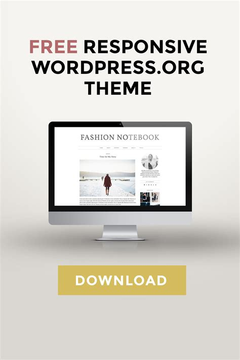 theme blog responsive free wordpress theme download lifestyle blog