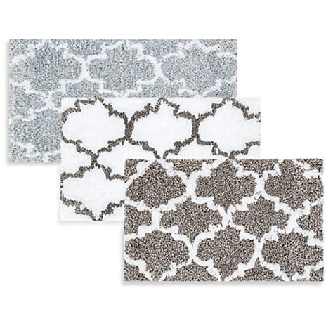 Patterned Bathroom Rugs Loloi Rugs Grand Luxe Patterned Bath Mat Www Bedbathandbeyond