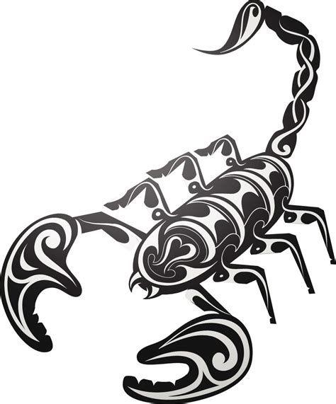 tribal tattoo scorpion majestic tribal scorpion tattoos that will make heads turn