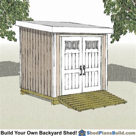 8x8 house plans 8x8 shed plans for building a backyard storage shed