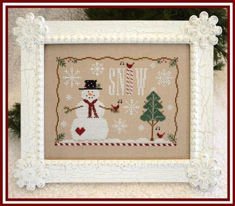 winter welcome country cottage needleworks i cross stitch pinterest cottages country country cottage needleworks snow days down sunshine lane