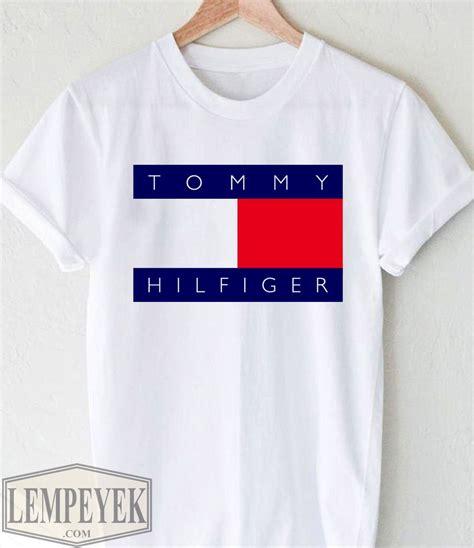 Hilfiger Logo T Shirt by Shirt Hilfiger Femme Logo