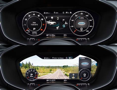 Audi Virtual Cockpit by Audi Tech Virtual Cockpit For A3 1 Teraflop A8 Anti