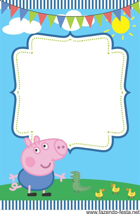 peppa pig template peppa pig and george on peppa pig