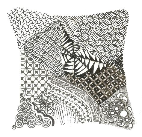 zentangle pattern images zentangle carol ottaway