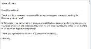 Rejection Email Template rejection email template rejection letter email