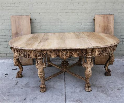 Italian Style Dining Table 19th Century Italian Baroque Style Dining Table At 1stdibs