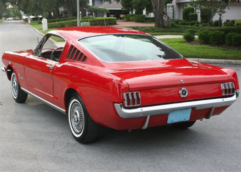 most desired style 1965 ford mustang fastback 78k