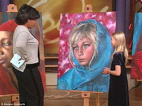 painting 9 year akiane kramarik discovered by oprah at eight now sells