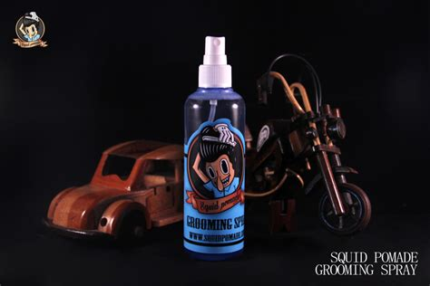Pomade Custome Mini squid pomade quot grooming spray quot ob08