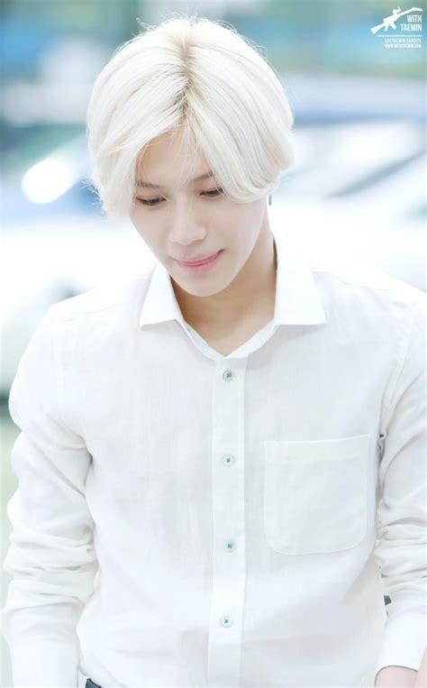 Korea White anime white hairstyles kpop korean hair and style