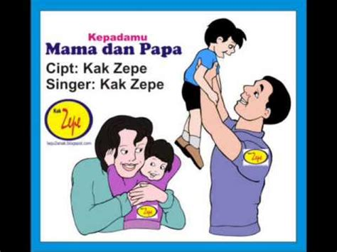 Aku Sayang Ayah Bunda kepadamu dan papa lagu anak indonesia tema keluarga