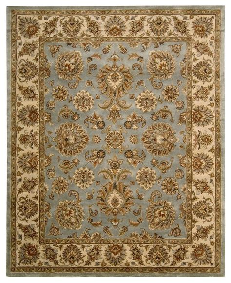 macys rugs nourison area rug rajah collection ja32 indore light blue 8 3 quot x 11