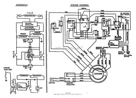 wiring diagram  winpower generator