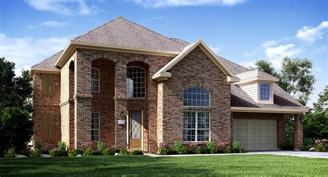 Houston Home Builders by Lakes Of Reserve Collection New Home
