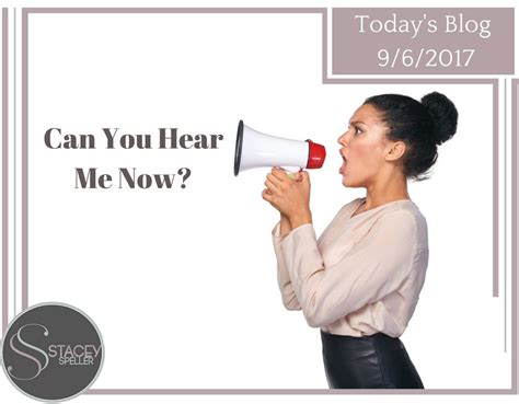 Can You Hear Me Now 2 by Stacey Speller Official Website