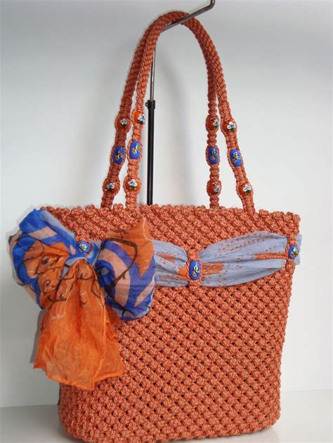 Macrame Bags - 207 best makrame images on macrame bag